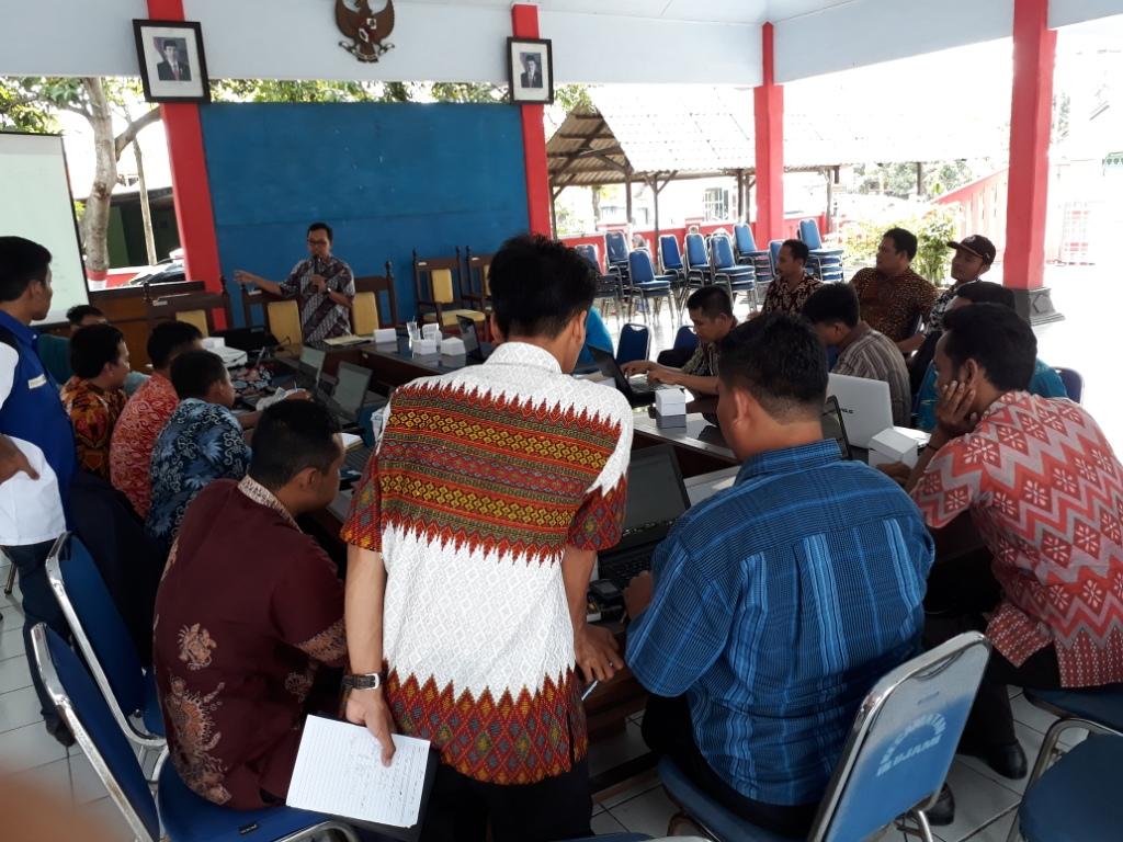 Pelatihan Website Desa untuk Peningkatan Kapasitas Admin Desa di Pendopo Kecamatan Ulujami